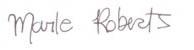 Marle's signature